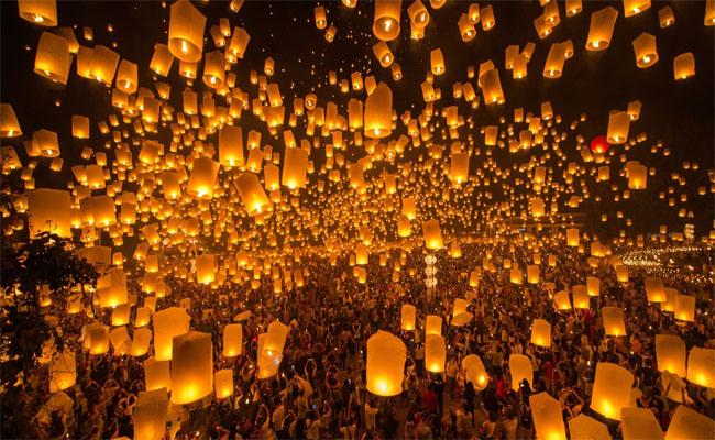 Kết quả hình ảnh cho Lễ hội ánh sáng Bình Khê dai loan