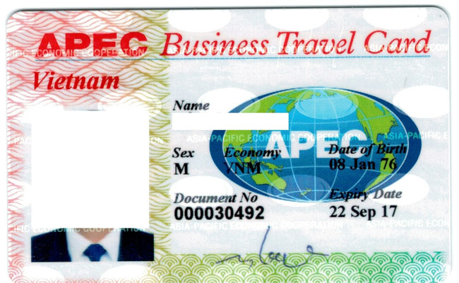 the apec dac biet the nao, so huu the apec se duoc mien visa nuoc nao 1