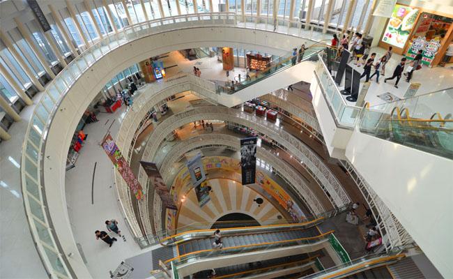 Dream Mall - khu thuong mai bac nhat Dai Loan 3