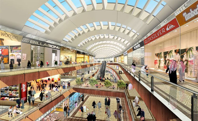 Dream Mall - khu thuong mai bac nhat Dai Loan