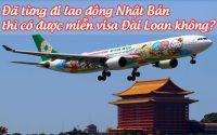 da tung di lao dong Nhat Ban thi co duoc mien visa Dai Loan khong