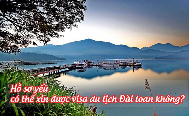 ho so yeu co the xin duoc visa du lich Dai Loan khong