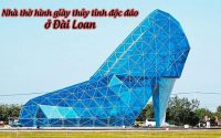 nha tho hinh giay thuy tinh doc dao o Dai Loan