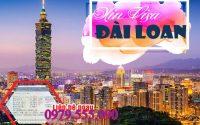 visa cong tac Dai Loan