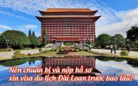 visa du lich Dai Loan