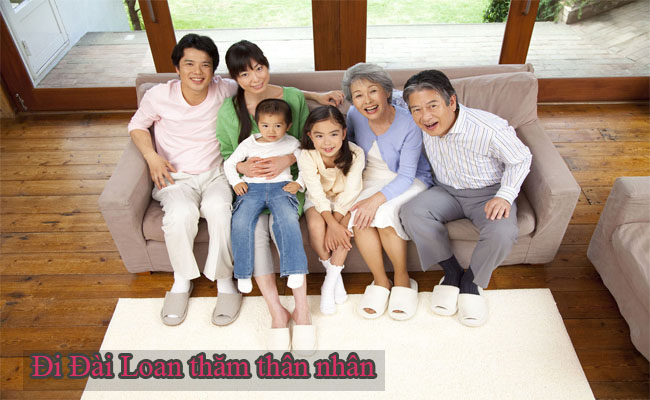 visa tham than Dai Loan