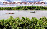 xin visa Dai Loan o Ben Tre