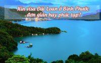 in visa Dai Loan o Binh Phuoc