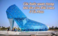 xin visa Dai Loan o Ca Mau