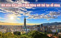 xin visa Dai Loan o Dak Nong