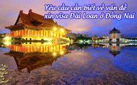 xin visa Dai Loan o Dong Nai