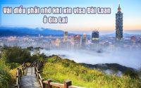 xin visa Dai Loan o Gia Lai