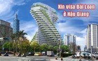 xin visa Dai Loan o Hau Giang