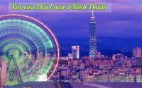 xin visa Dai Loan o Ninh Thuan
