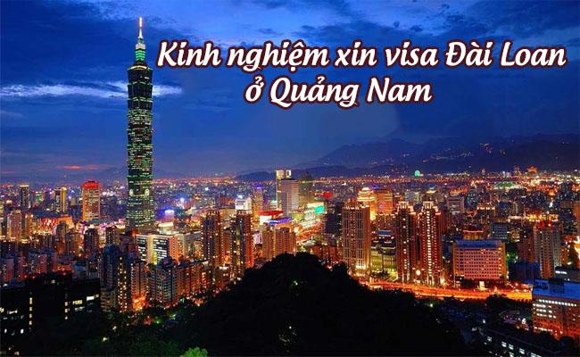 xin visa Dai Loan o Quang Nam 1