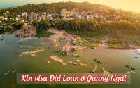 xin visa Dai Loan o Quang Ngai