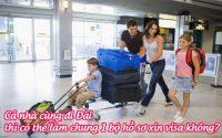 ca nha cung di Dai thi co the lam chung 1 bo ho so xin visa khong