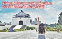 khong di lam nhung la chu nha tro thi co the xin visa du lich dai