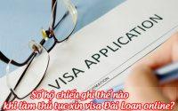so ho chieu ghi the nao khi lam thu tuc xin visa dai loan online 1