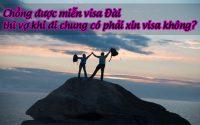 chong duoc mien visa dai thi vo khi di chung co phai xin visa khong