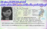 co visa di dai thi co the nhap canh dai loan nhieu lan phai khong