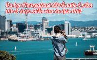 du hoc newzealand da ve nuoc 5 nam, thi co duoc mien visa du lich dai