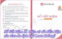 so tiet kiem 51 trieu co du dieu kien xin visa du lich dai loan khong