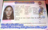 visa cong tac dai loan duoc di toi da trong thoi gian bao nhieu ngay