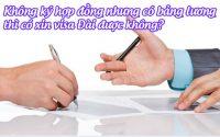 khong ky hop dong nhung co bang luong thi co xin visa dai duoc khong