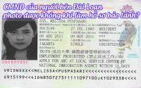 CMND cua nguoi ben dai loan photo duoc khong khi lam ho so bao lanh