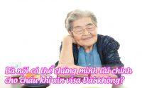 ba noi co the chung minh tai chinh cho chau khi xin visa dai khong