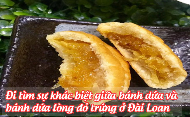 banh dua long do trung o dai loan