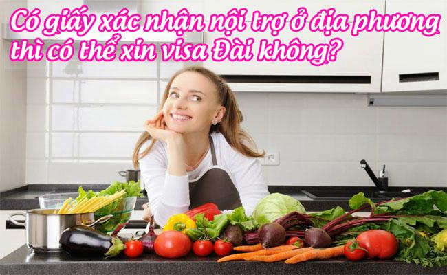 co giay xac nhan noi tro o dia phuong thi co the xin visa dai khong