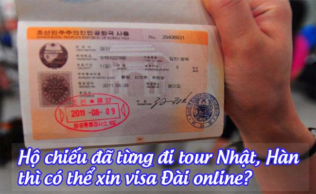 ho chieu da tung di tour nhat, han thi co the xin visa dai online
