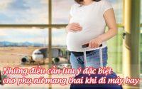 nhung dieu can luu y dac biet cho phu nu mang thai khi di may bay 1