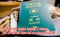 chi co xac nhan luong 2 thang thi co du de lam ho so xin visa dai