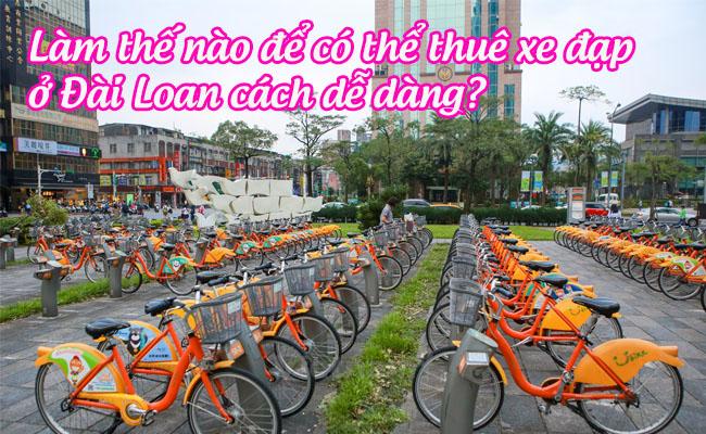 lam the nao de co the thue xe dap du lich o dai loan cach de dang